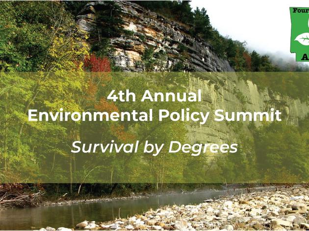 4th Annual Environmental Policy Summit on Friday, November 8