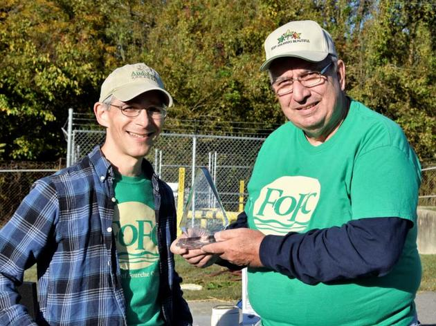 Norm Berner, Audubon's 2018 Volunteer of the Year