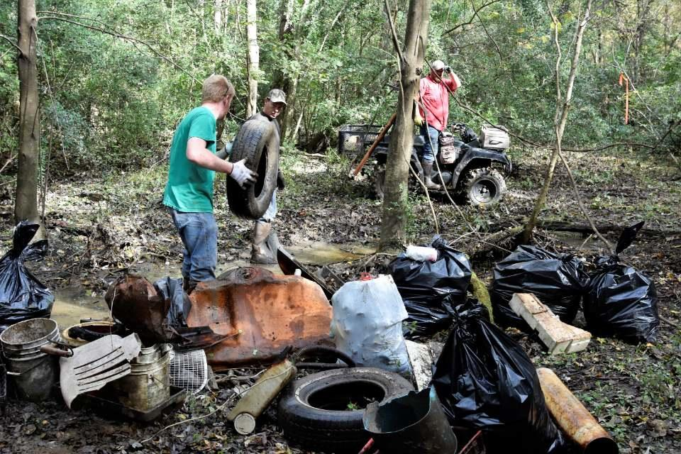 Fourche Creek Fall Cleanup