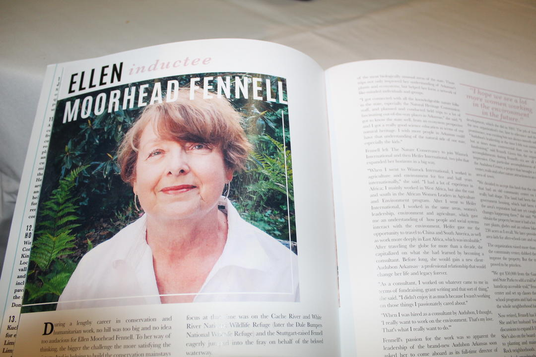 Ellen Fennell Outdoor Hall of Fame